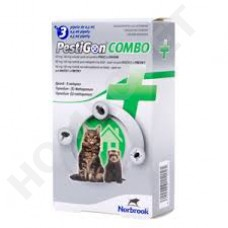 Pestigon Combo Spot on voor katten en fretten